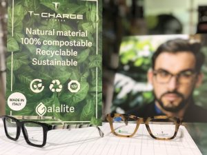 Colección biodegradable T-Charge Galalite - Óptica One Vision